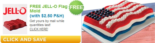 Jello Flag Mold