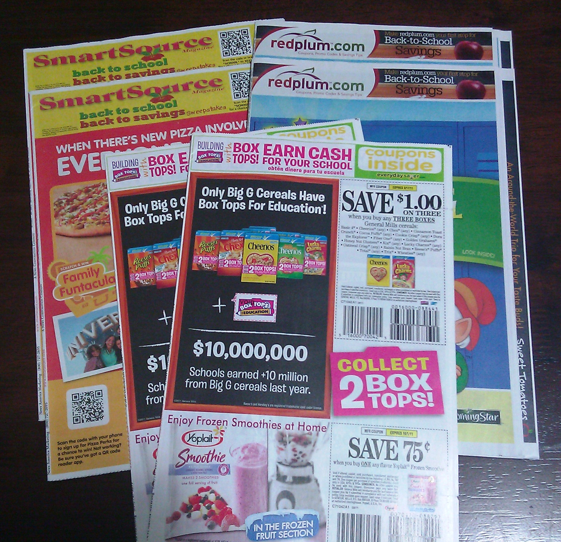 how to get smartsource inserts in the mail