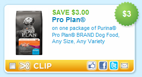 Pro Plan Dog Food Coupon