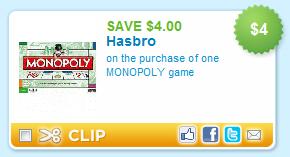 Monopoly Coupon