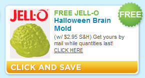 Halloween Brain Jello Mold