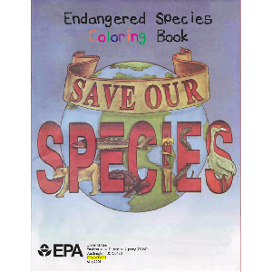 Endangered Species Coloring Book