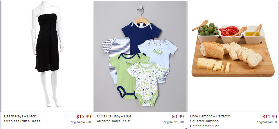 Zulily Blow Out Sale Labor Day