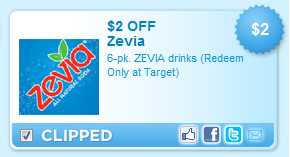 Zevia Coupon