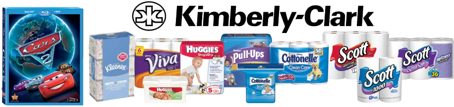 Kimberly Clark Cars 2
