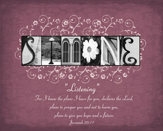 Artistic Letters Photo