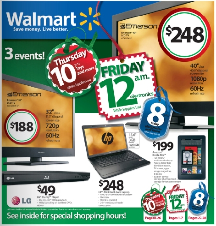 Walmart Black Friday Ad Preview