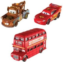 Cars 2 Collector Vehicle 3 pack