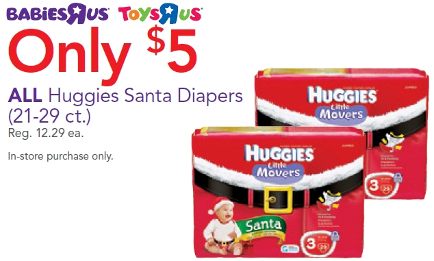 Santa Diapers Deal