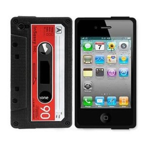 iPhone Cassette Tape Cover