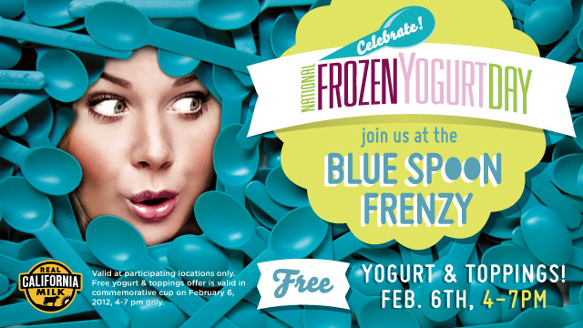 Yogurtland FREE Frozen Yogurt