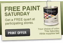 Free Paint Ace Hardware March 17