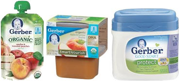 Gerber Foods Printable Coupons