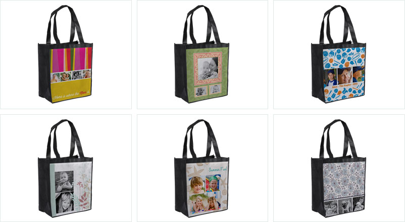 Free Customized Grocery Bag from Ink Garden