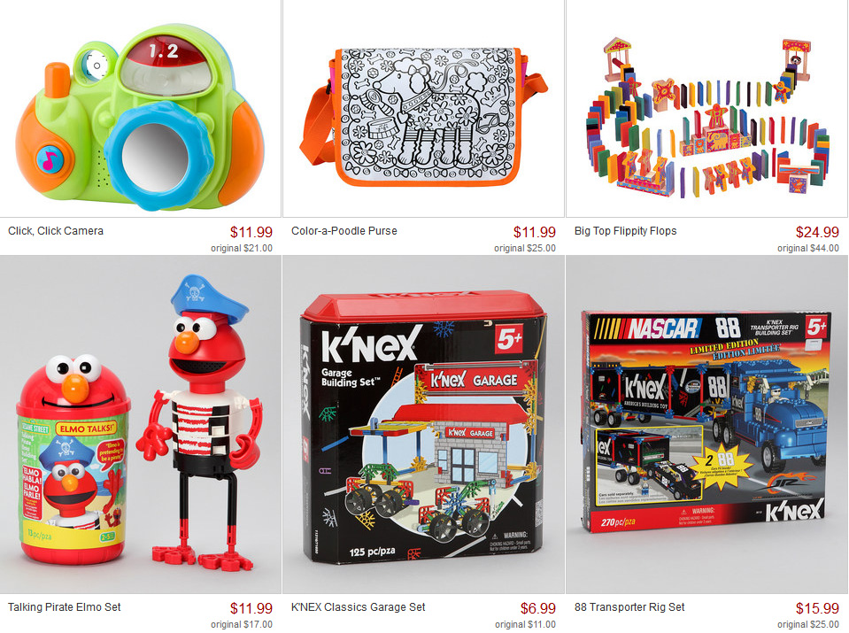 KNEX and Alex Toys on Zulily