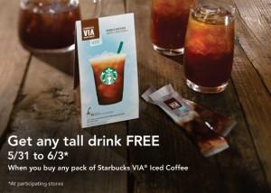 FREE Drink at Starbucks June