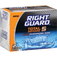 Right Guard Total Defense 5 Bar Soap Coupon