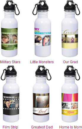 Ink Garden Custom Water Bottles