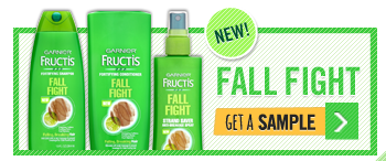 Garnier Fructis Fall Fight Sample
