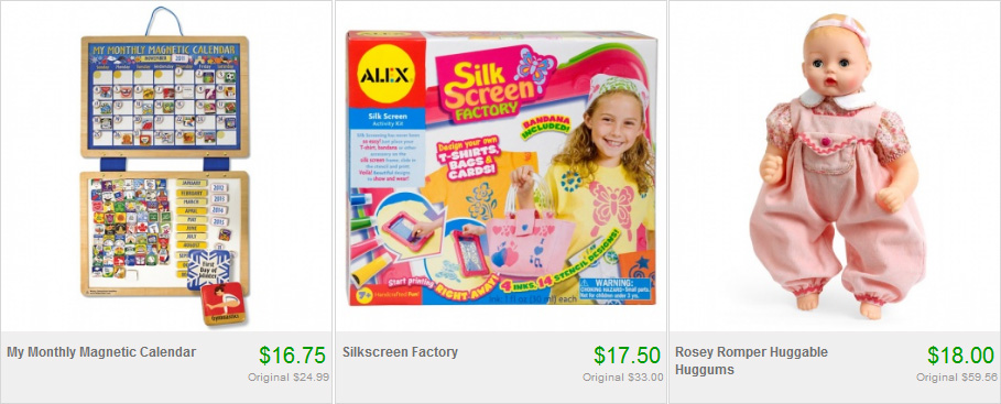 Melissa and Doug Toys on Totsy