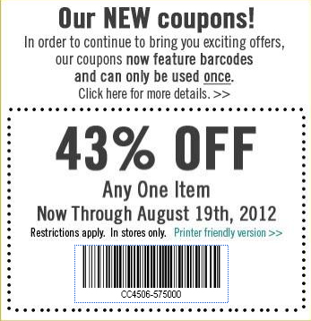 Archivers New Coupon Policy