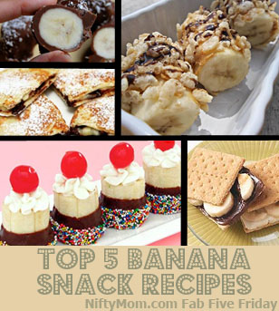 Quick Easy Banana Snack Recipes