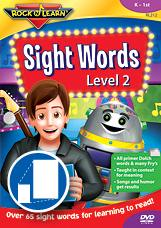 Sight Words Level 2 by Rock N Learn