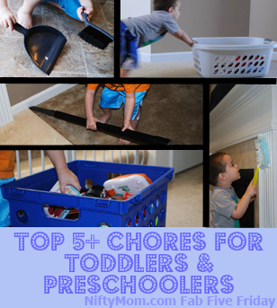 Chores for Toddlers and Preschoolers