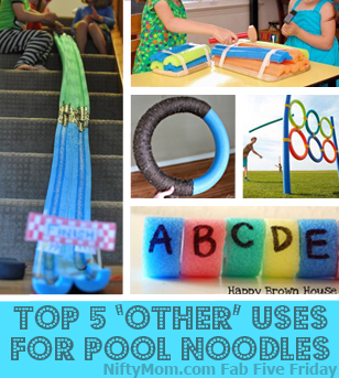 Indoor Play with Pool Noodles
