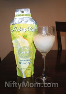 Arbor Mist White Pear Pinot Grigio Frozen Cocktail Review