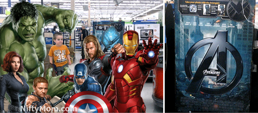 Avengers Augmented Reality App at Walmart #MarvelAvengersWMT
