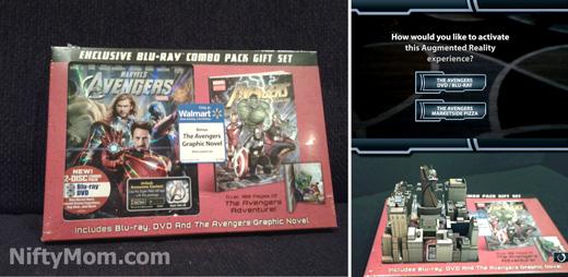 Avengers DVD Combo