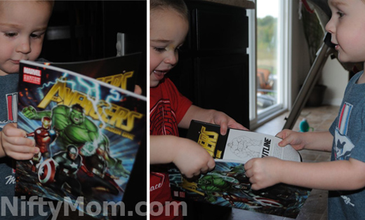 Avengers Graphic Novel with DVD Combo at Walmart #MarvelAvengersWMT