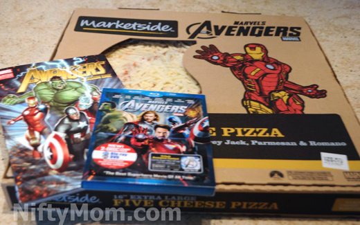 Avengers Pizza & a Movie Night #MarvelAvengersWMT