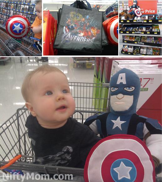Avengers Merchandise at Walmart #MarvelAvengersWMT