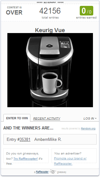 Keurig Winner