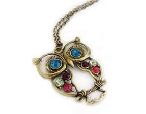 Amazon Owl Necklace $0.99