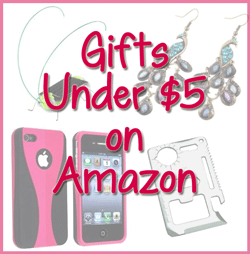 Gifts Under $5 on Amazon