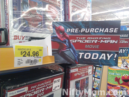Pre-Purchase Spider-Man at Walmart #SpiderManWMT