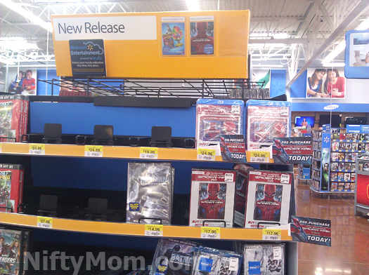 Spider-Man Pre-Purchase Box at Walmart #SpiderManWMT