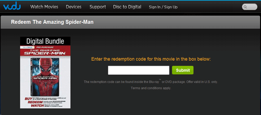 How to Redeem Spider-Man on VUDU #SpiderManWMT