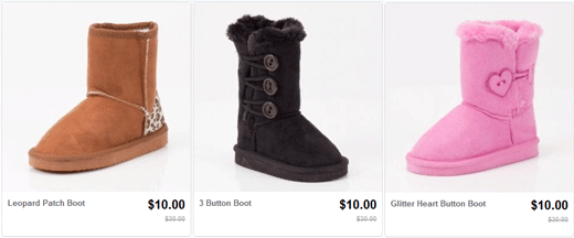 October Sale on Toddler Winter Boots
