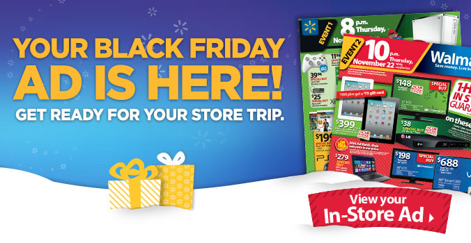 2012 Walmart Black Friday Ad