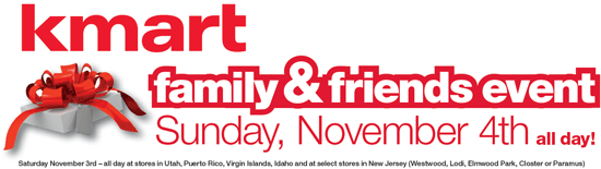 Kmart Friends & Family Coupons