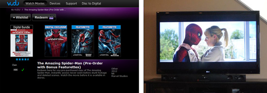 Early Access to Spider-Man on VUDU #SpiderManWMT