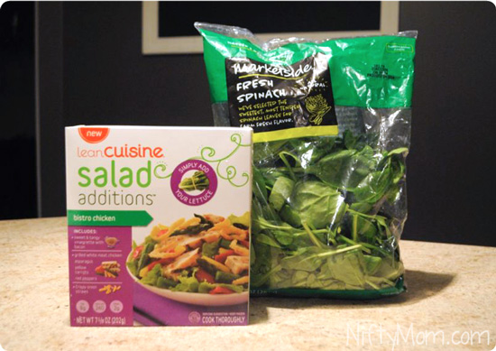 Lean Cuisine Salad Additions Just add Lettuce #BYOL #CBias