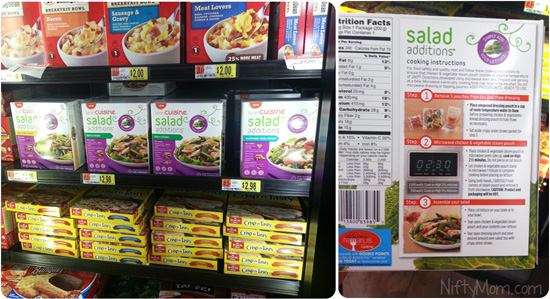 Lean Cuisine Salad Additions at Walmart #BYOL #CBias