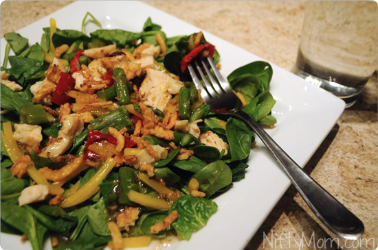 Lean Cuisine Salad Additions Bistro Chicken #BYOL #CBias