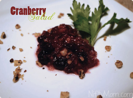 How to Make Easy Cranberry Salad