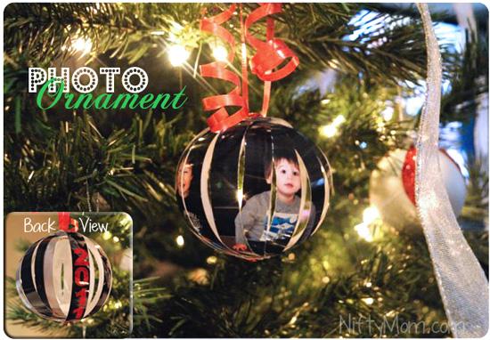 How to Make a Homemade Photo Ornament